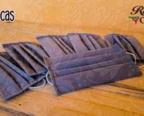 Tapabocas desechables con doble tela