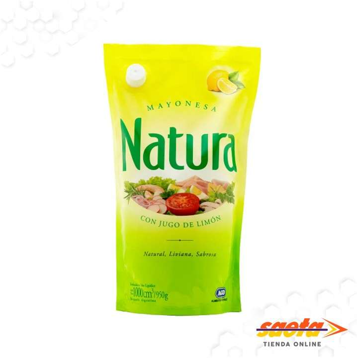Mayonesa Natura sachet 1000 cc x8u - 0