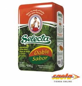 Yerba mate Selecta Compuesta doble sabor 500 gramos