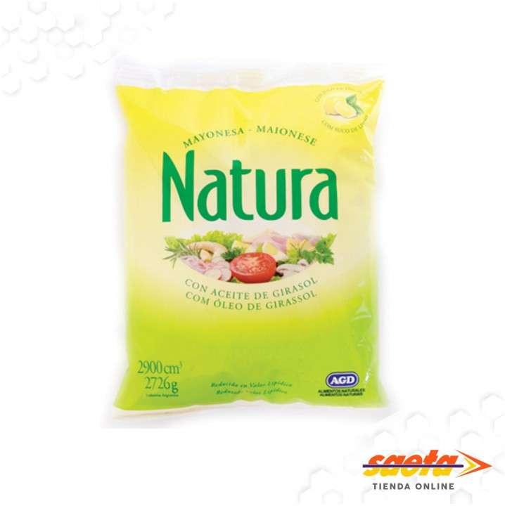 Mayonesa Natura sachet 2900 cc - 0