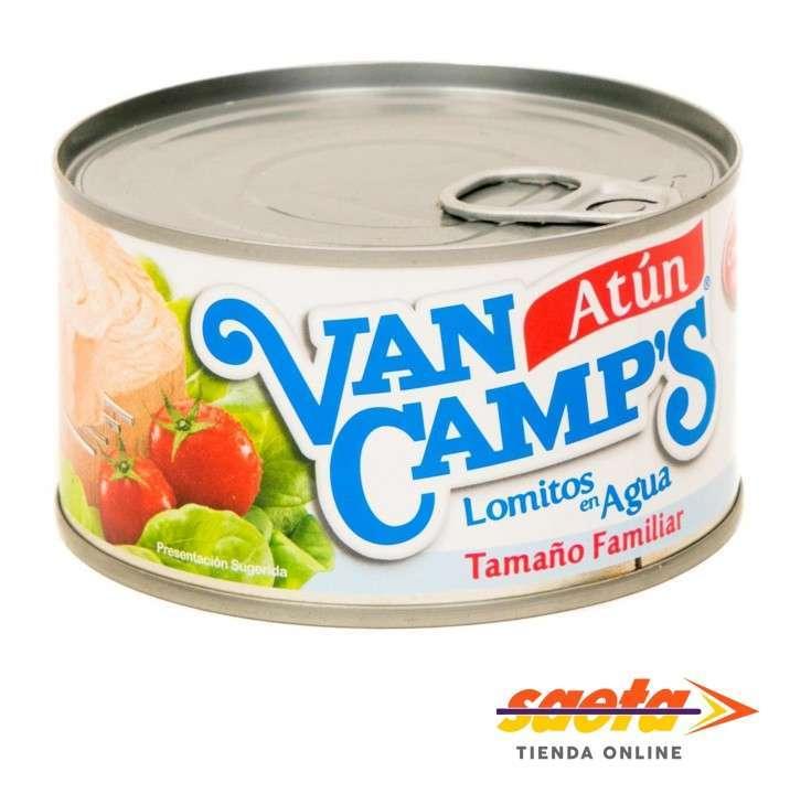 Atún Van Camp´s en agua lata 354 gramos - 0