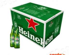 Cerveza Heineken holandesa 250 ml caja x 24 unidades