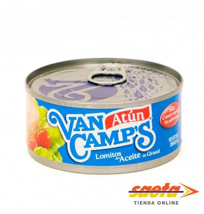 Atún en aceite Van Camp´s 140 gramos - 0