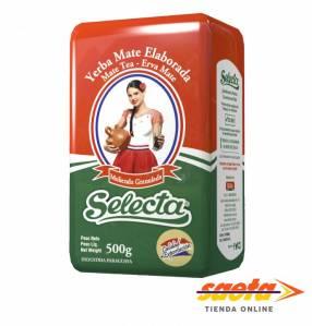 Yerba mate Selecta Granulada Tradicional 500 gramos