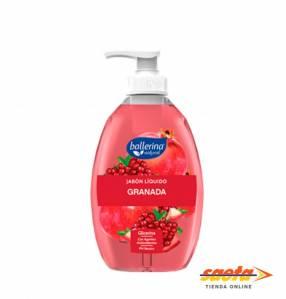 Jabón Líquido Ballerina Granada Antioxidante 350 ML