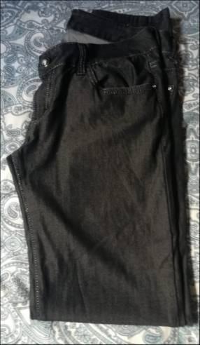 Pantalon tipo Jeans Negro