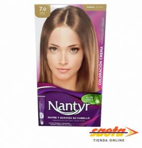 Kit crema color Nantyr rubio 7.0