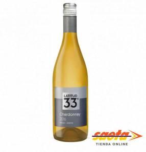 Vino Latitud 33º Chardonnay Blanco