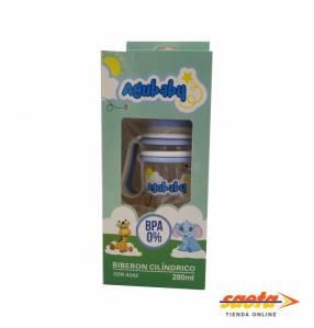 Agubaby biberón 280 ml con caja