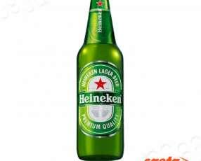 Cerveza Heineken holandesa 650 ml pack x 12