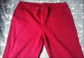 Pantalon rojo