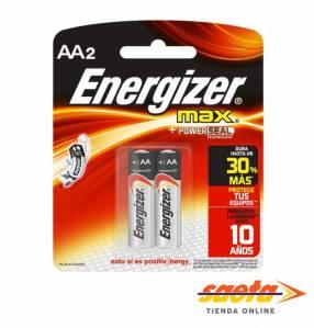 Pila alcalina Energizer AA pequeña E91-Bp2
