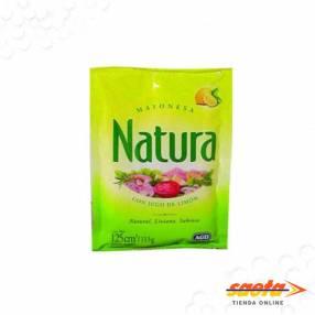 Mayonesa Natura sachet 125cc x 20un
