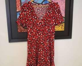 Vestido ozlo rojo