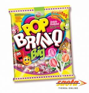 Chupetin Pop Brinq Big Surt de Fruta 450 gramos