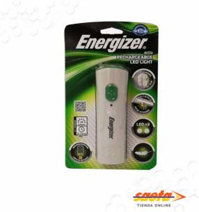 Linterna 2 led recargable Energizer
