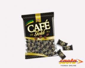 Caramelo duro café gold 200g toffano