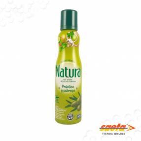 Aceite de Oliva en aerosol Natura sin gluten de 120 gr.