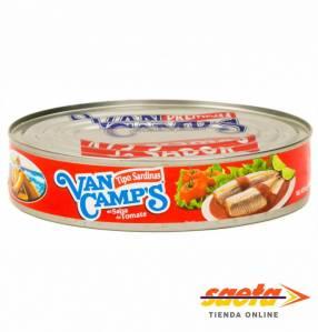 Sardina en salsa de tomate Van Camp's