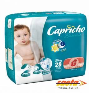 Pañal Capricho Bummis Jumbo G 28 unidades