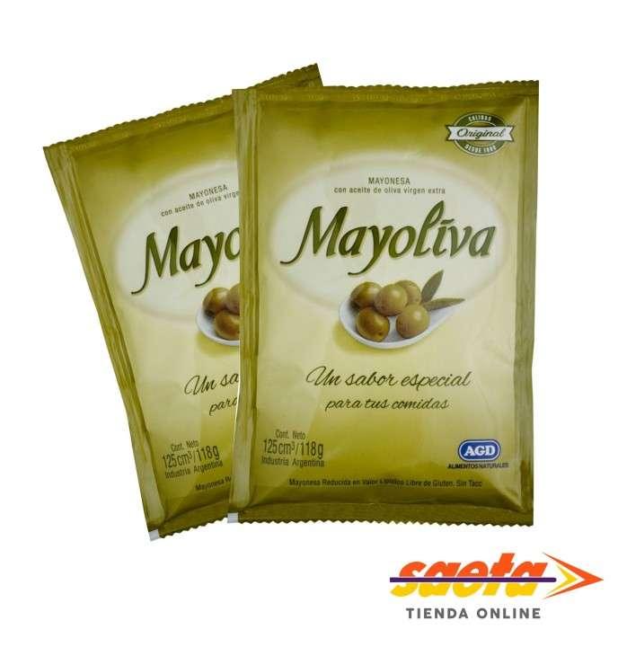 Mayonesa Mayoliva sachet 125c x 20u - 0
