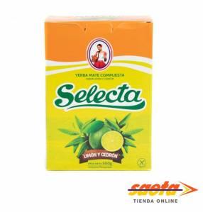 Yerba mate Selecta compuesta Limón y Cedrón 500 gramos