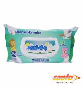 Toallita húmeda Agubaby pack x 50 unidades