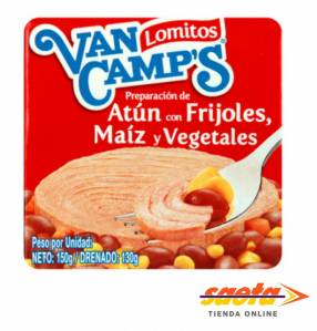 Atún Van Camp´s Mix Mexicano 150 gramos