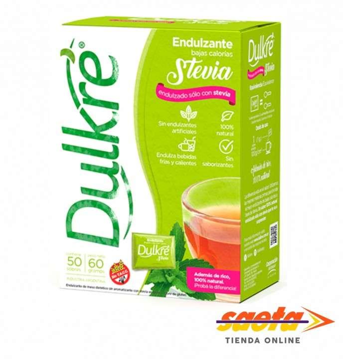 Edulcorante Dulkre Stevia Sobre - 0