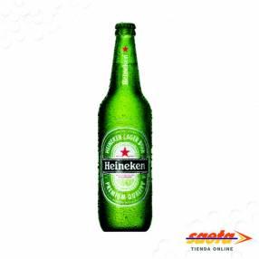 Cerveza Heineken retornable litro x 12