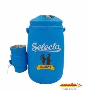 Termo forrado Selecta Silueta p/ agua fría