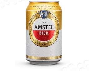 Cerveza Amstel Premium lata 330cc x 6
