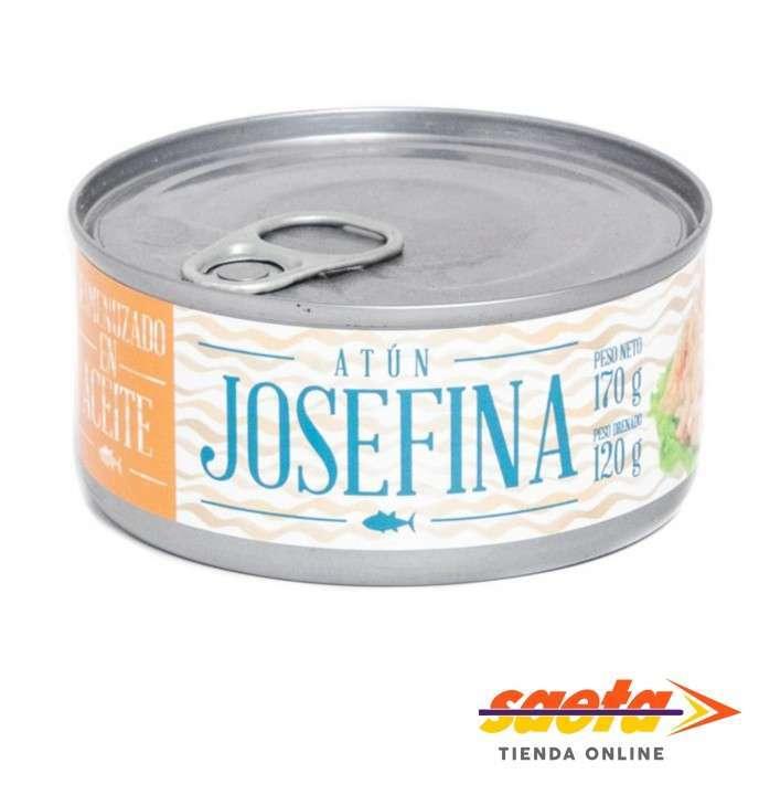 Atún desmenuzado aceite Josefina Af L 170 gramos - 0