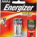 Pilas Alcalinas Energizer Max AAA Pack x 2 unidades - 0