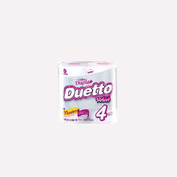 Papel Duetto Perfumado x 4 Velvet - 0