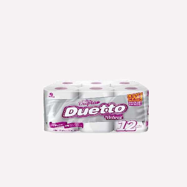 Papel Duetto Neutro 6x12 L+P Velvet - 0