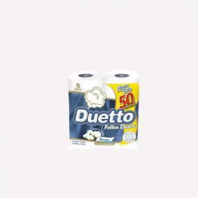 Papel Higienico Duetto Doble Hoja 50 Metros Neutro