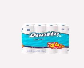 Papel Higienico Duetto 30 metros Neutro
