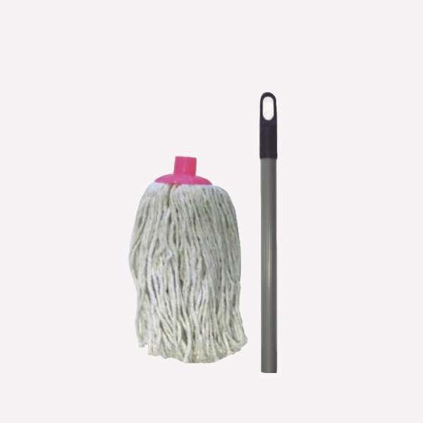 Mopa de algodon bio disolvente con cabo - 0