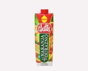Watts Naranja-Durazno 1000mL x 6
