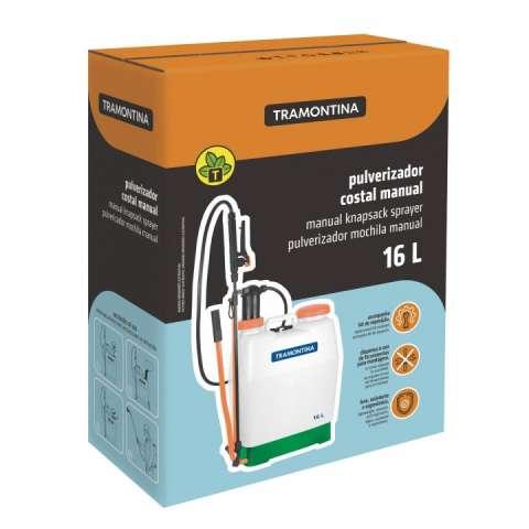 Pulverizador de mochila Tramontina 16 litros