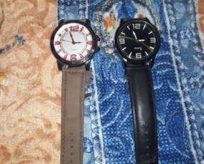 2 relojes quartz