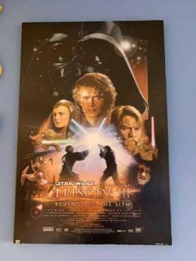 Poster original Star Wars Episodio 3