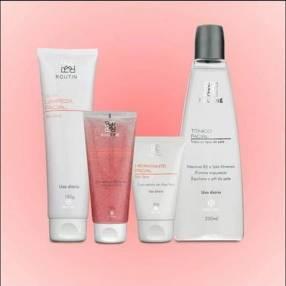 Kit de limpieza facial para piel seca