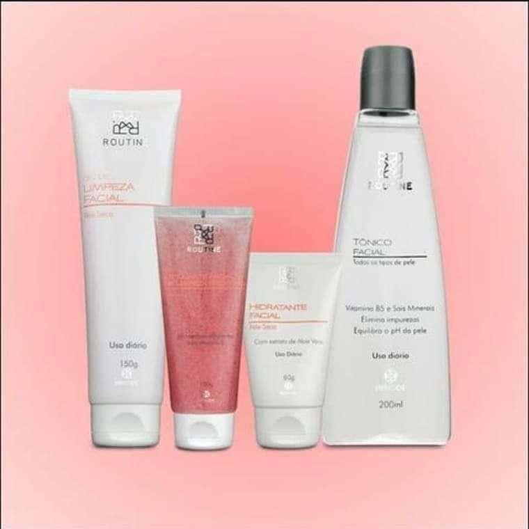 Kit de limpieza facial para piel seca - 0