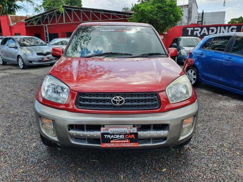 Toyota Rav 4 2002, Motor 1.8cc VVTI, Caja Automatica, Aire Condicionado, - 2