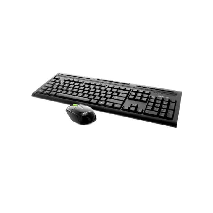 Teclado y mouse inalámbrico multimedia - 2