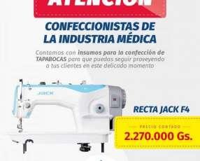 Maquina de coser industrial recta Jack F4
