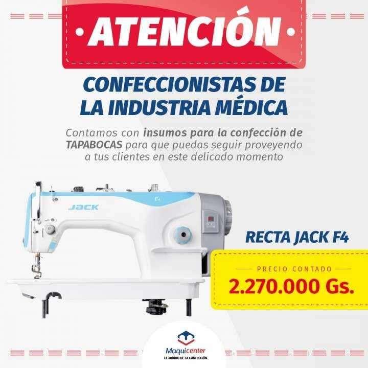 Maquina de coser industrial recta Jack F4 - 0