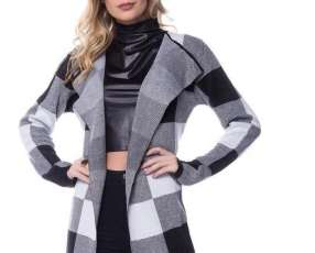 Cárdigan tricot adaptable hasta G